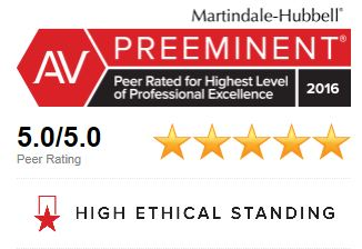 Featured AV Peer Review Rated Lawyer Icon